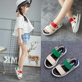 Сладки сандали за момичета с ластични каишки