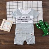 Детски комплект за момчета - тениска + къси панталони