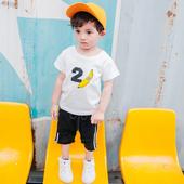 Сладка детска тениска за момчета с изображение