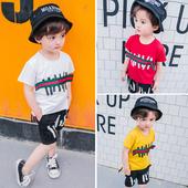 Детски ежедневен комплект за момчета в различни цветове