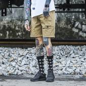 Стилни мъжки къси панталони подходящи за ежедневие в три цвята