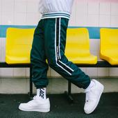 Спортен мъжки панталон с ластик в два цвята