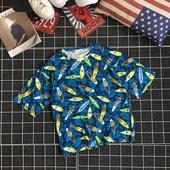 Лятна и свежа мъжка тениска в морски мотив