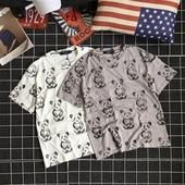 Ежедневна мъжка тениска в два цвята на мечета