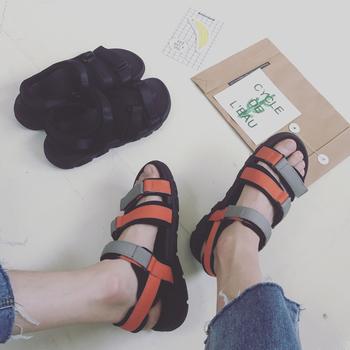 Мъжки спортни сандали с лепенки в различни цветове