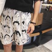 Ежедневни мъжки шорти с изображение в три модела