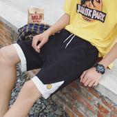 Мъжки ежедневни шорти с връзки в два цвят