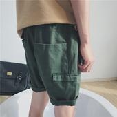 Ежедневни и стилни шорти за мъже в три цвята дълбоки джобове