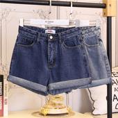 Изчистен модел къси дамски панталони с висока талия