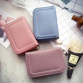 Красив дамски портфейл в изчистен модел в много цветове