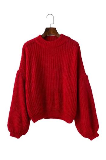 Много интересен и стилен дамски плетен,широк пуловер