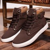 Мъжки ежедневни топли обувки високи до глезена - 4 цвята