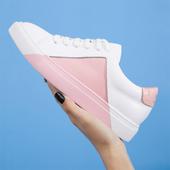 Дамски ежедневни спортни обувки с равна подметка, в 3 различни цвята