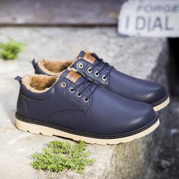 Χειμερινά και πολύ ζεστά ανδρικά παπούτσια με δεσμούς σε τρία διαφορετικά  χρώματα 73d4d66bb06