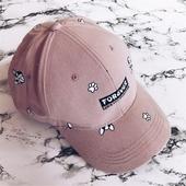 Бейзболна дамска шапчица с много интересен принт - 3 цвята