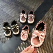 Стилни ежедневни обувки за момичета с панделка в три цвята
