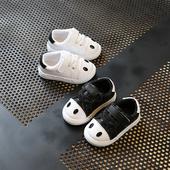Ежедневни детски кецове за момчета и момичета в черен и бял цвят