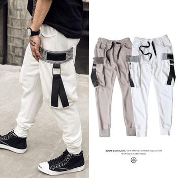 Спортно-елегантни мъжки панталони с джобове