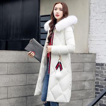 Πολύ όμορφο και  μακρύ γυναικείο μπουφάν με κουκούλα και σε πολλά χρώματα