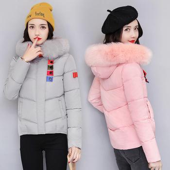 Страхотно зимно яке за дамите с качулка и пух в много цветове