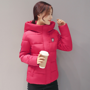 Стилно и късо зимно яке за дамите в много цветове с качулка