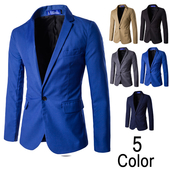 Мъжко официално сако в пет цвята