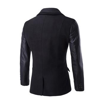Много стилно мъжко палто в три цвята