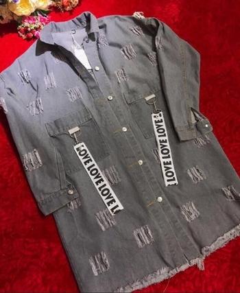 Много удобно и стилно дамско дънково яке в два цвята
