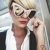 Много стилни дамски очила с нестандартна форма на стъклата - 6 модела