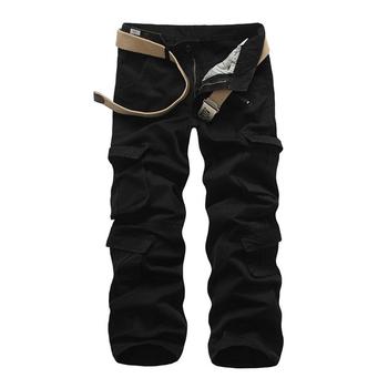 Ежедневен мъжки много удобен панталон с големи джобове - 4 цвята