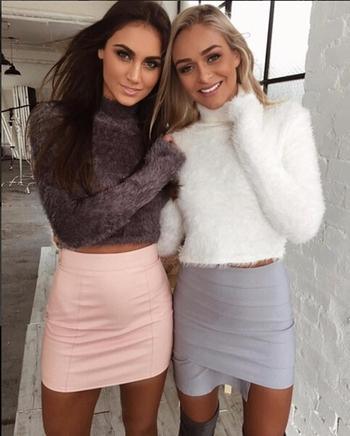 Ежедневен,много мек дамски пуловер с полувисока яка - 3 цвята