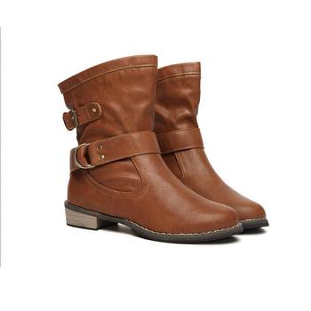Ενδιαφέρουσες γυναικείοες μπότες σε στυλ ρετρό