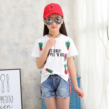 Сладка детска тениска с надпис и изображение