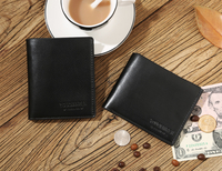 Малък и практичен мъжки елегантен портфейл