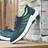Спортни и дишащи мъжки маратонки в три разцветки