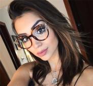 Изключителни дамски очила с тънки рамки и стилна форма на стъклата - много цветове