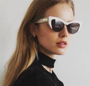 Слънчеви екстравагантни дамски очила с UV-защита - много цветове