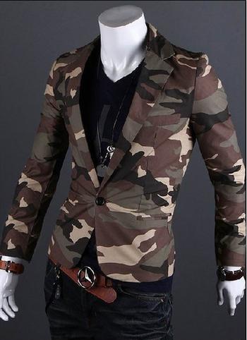 Камуфлажно мъжко сако - спортно-елегантно