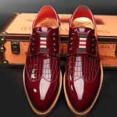 Официални мъжки обувки без връзки, в четири цвята