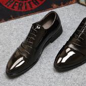 Стилни мъжки обувки в черен цвят