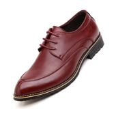 Кожени официални обувки в три цвята - заострени