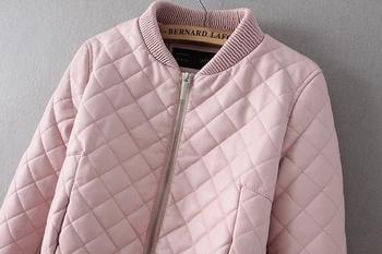 Γυναικείο  μπουφάν σε ροζ, μαύρο και μπλε χρώμα
