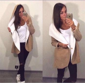 Πολύ ζεστό και κομψό γυναικείο μπουφάν με μάλλινη φόδρα