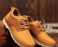 Ежедневни мъжки обувки с устойчива подметка в четири цвята