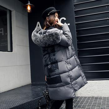 Κομψό και μακρύ ζεστό γυναικείο μπουφάν  με κουκούλα  σε διάφορα χρώματα