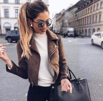 Много актуално и модерно късичко дамско яке