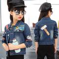 Стилно дънково яке за момичета с интересна бродерия