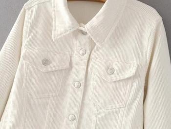 Πολύ άνετο και μοντέρνο γυαλιστερό γυναικείο σακάκι  - 4 μοντέλα