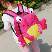 Сладка раница за момичета и момчета във формата на жабка и в няколко цвята