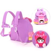 Сладка малка раница за момичета с апликация в четири цвята